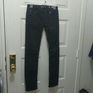 Size 16 Miss Me women's black skinny jeans